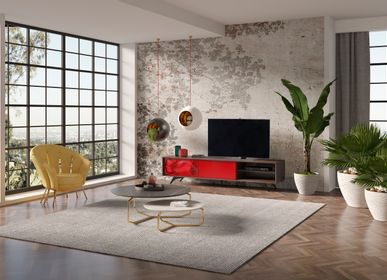 Wall ensembles - FREEMAN tv unit - GUAL DESIGN