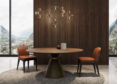 Tables - RING round dining table - GUAL DESIGN