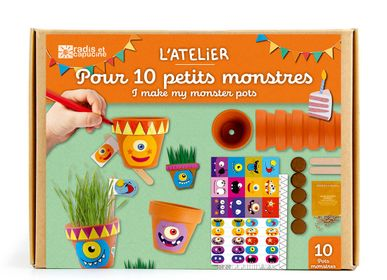 Birthdays - Birthday Workshop - 10 little monsters - RADIS ET CAPUCINE