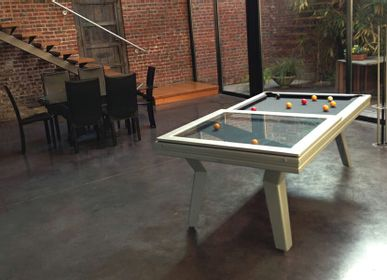 Tables de jeux - Billard moderne POP - BILLARDS ET BABY-FOOT TOULET