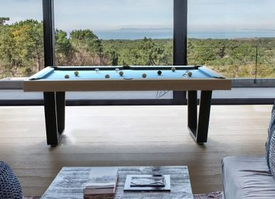 Card tables - Pool table Iron - BILLARDS ET BABY-FOOT TOULET