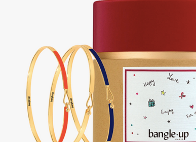 Bijoux - Coffret Megève - Tangerine / Or Light / Bleu Nuit - BANGLE UP
