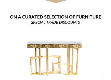 Furniture and storage - Metropolis Console Table - COVET HOUSE