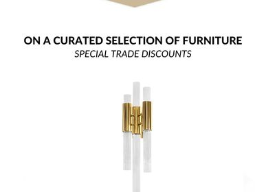 Furniture and storage - Waterfall Wall Lamp  - COVET HOUSE