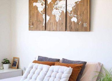 Autres décorations murales - Cartes en bois - Cartes en bois - MISS WOOD