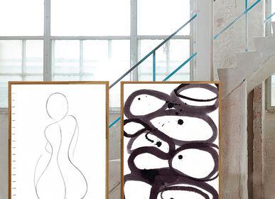 Aménagements - Impression d'art Hourglass Silhouette - METTEHANDBERG ART PRINTS