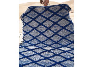 Sur mesure - Tapis Marocain Kilim - Motif Diamant Flatweave #2 - TASHKA RUGS