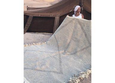 Other caperts - Moroccan Kilim Rug - Diamond Pattern Flatweave #3 - TASHKA RUGS