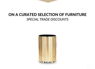 Mobilier et rangements - Empire Big Side Table  - COVET HOUSE