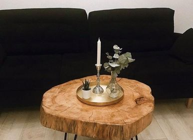 Coffee tables - Solid Wood Coffee Table - MASIV_WOOD