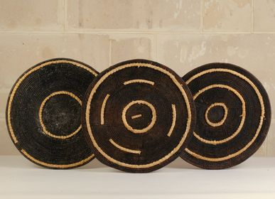 Trays - Mbunda baskets Vintage Inspired, Zambia - AS'ART A SENSE OF CRAFTS