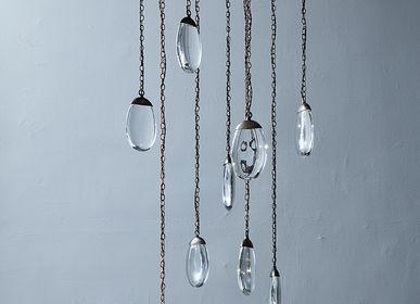 Éclairage LED - celestial pebble round 9 - OCHRE