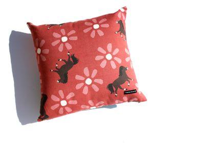 Fabric cushions - WILD HORSES cushions - MY FRIEND PACO