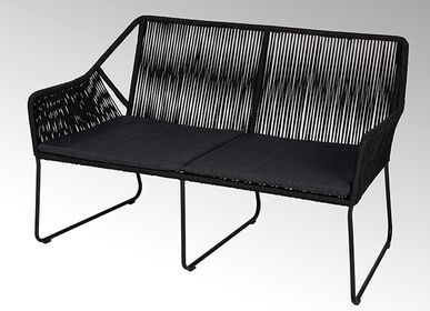 Lawn armchairs - Amaya outdoor bench - LAMBERT
