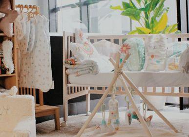 Chambres d'enfants - PLAY BLANKET -TEEPEE MOTIF LLAMA - PETIT ALO