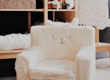 Chambres d'enfants - ARMCHAIR WITH LLAMA DECORATION - PETIT ALO