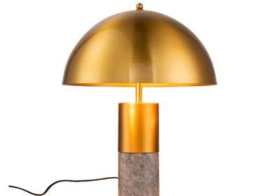 Chambres d'hotels - LAMPE DE BUREAU MUSH-G - CRISAL DECORACIÓN