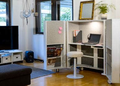 Office furniture and storage - Acoustic Office Space Furniture  - EVAVAARADESIGN