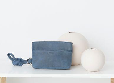 Leather goods - Wallet Wyoming Blue - KASZER