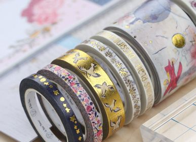 Papeterie / carterie / écriture - Sets de 10 Washi Tape exclusifs Petit Prince ® - LOVE IN THE MOON