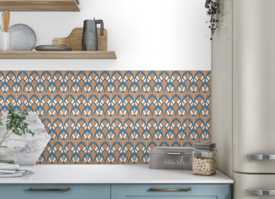 Cement tiles - Plumage Cement Tile - ETOFFE.COM