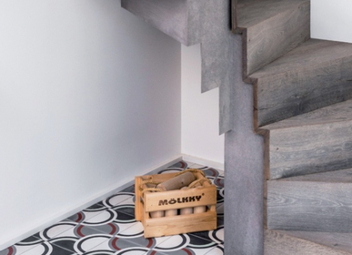Cement tiles - Rounded Cement Tile - ETOFFE.COM