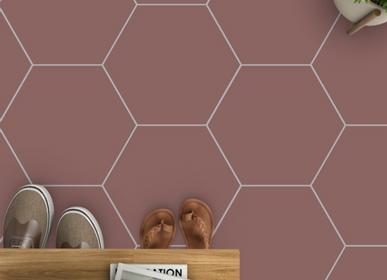 Cement tiles - Carodeco Uni Hexagon Cement Tile - ETOFFE.COM