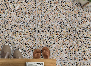 Cement tiles - Terrazzo tile Aganippe 07 - ETOFFE.COM