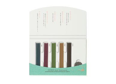 Scents - Kyogosai/Horin Sticks Assortment (20 sticks) - SHOYEIDO INCENSE CO.