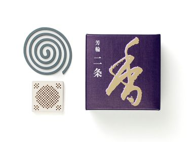 Scents - HORIN Nijo Coil/Avenue of the Villa (10 coils) - SHOYEIDO INCENSE CO.
