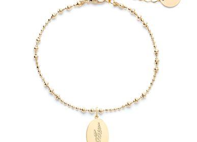 Jewelry - Flower de Provence medallion bracelet - JOUR DE MISTRAL