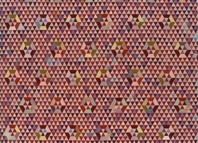 Design - Tapis Trianglehex Sweet Pink - ETOFFE.COM