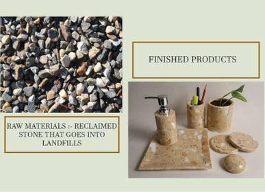 Autre fourniture bureau - Recycled & Reclaimed Stone Home Accessories  - VEN AESTHETIC CREATIONS