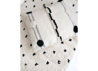 Coussins - Coussin de sol en laine Kilim marocain - TASHKA RUGS