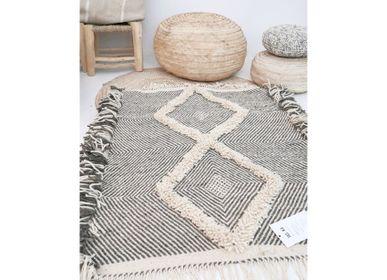 Bespoke - Moroccan Small Kilim Rug - Diamond Pattern Flatweave #4 - TASHKA RUGS