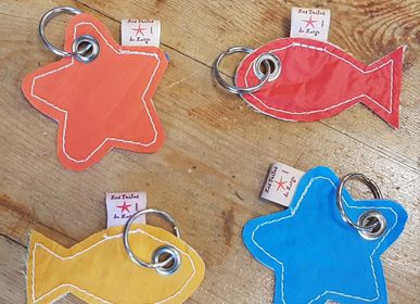 Leather goods - key ring - LES TOILES DU LARGE