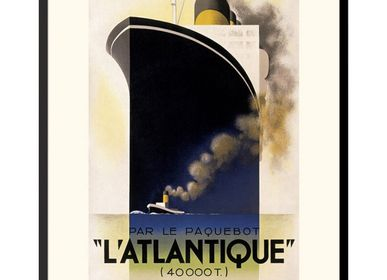 Poster - POSTER L'ATLANTIQUE CASSANDRE AVAILABLE IN 2 FORMATS - BILLPOSTERS