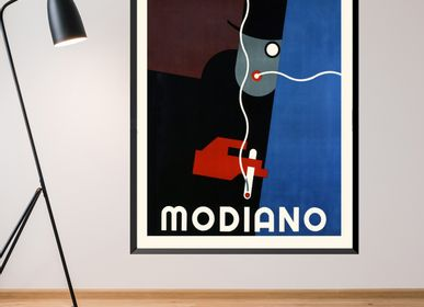 Poster - POSTER MODIANO ROBERT BÉRÉNY AVAILABLE IN 2 FORMATS - BILLPOSTERS