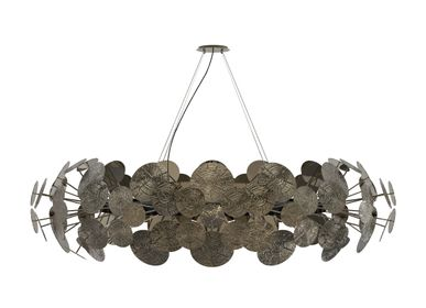 Hanging lights - NEWTON PATINA Chandelier - BOCA DO LOBO