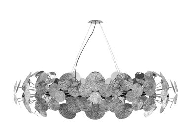 Hanging lights - NEWTON SILVER Chandelier - BOCA DO LOBO