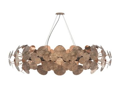 Hanging lights - NEWTON COPPER Chandelier - BOCA DO LOBO