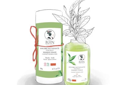 Beauty products - Ultra-Fine Cleansing Powder and Matcha-Azuki Face Mask - BIJIN-TAKESUMI