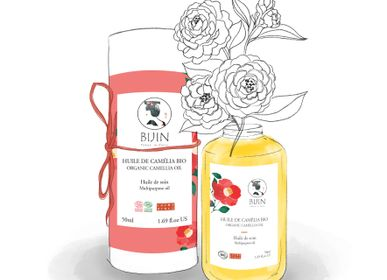 Beauty products - ORGANIC CAMELIA OIL - BIJIN-TAKESUMI