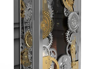 Unique pieces - BARON SILVER Luxury Safe - BOCA DO LOBO