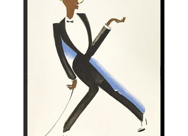 Poster - POSTER JAZZ DANCER PAUL COLIN 30 x 45 cm - BILLPOSTERS