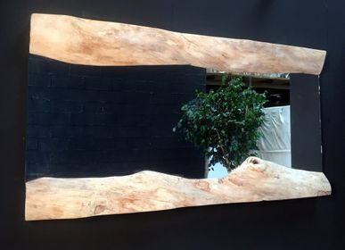Hotel rooms - wooden mirror - DECO-NATURE