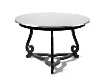 Coffee tables - FLOURISH SILVER Pedestal Table - BOCA DO LOBO