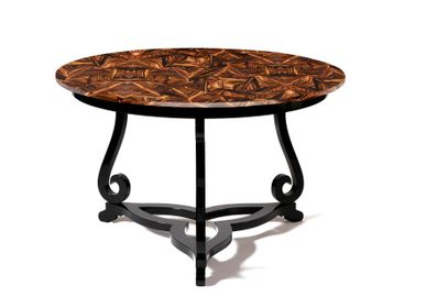 Coffee tables - FLOURISH PATCH Pedestal Table - BOCA DO LOBO