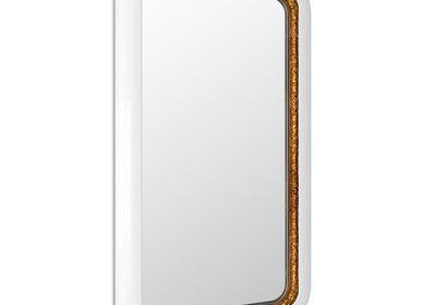 Mirrors - RING WHITE Rectangular Mirror - BOCA DO LOBO