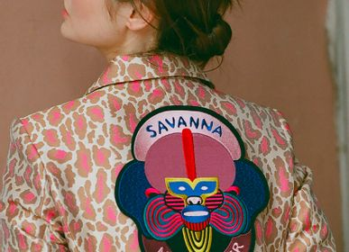 Apparel - Extra Large Patch - Savanna Night Fever - MACON & LESQUOY